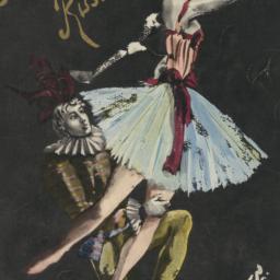 Basil's Ballets Russes program