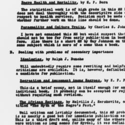 Categories of manuscripts b...