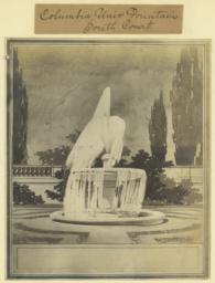 Columbia Univ. fountain, South court