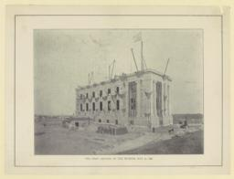 The First section of the museum, May 30, 1896