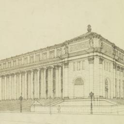 Post Office, N. Y. C. [Unit...