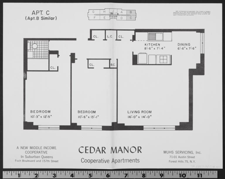 Cedar Manor, 157 Street And 116 Avenue, Apt. C - Columbia ...