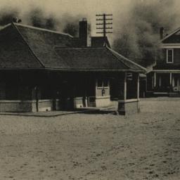 R. R. Station at Bedford, N...