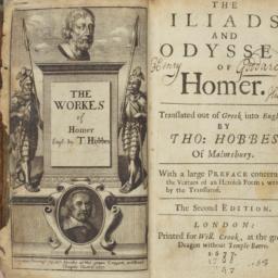 Hobbes's Homer Translation