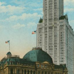 Woolworth Building from Cit...