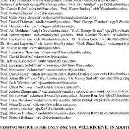 Announcements, 2001-02-07. ...