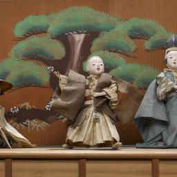 Japanese Theater Diorama
