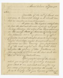 Autograph letter by George Washington, signed, to Nicholas Pike