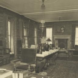 Library, looking South West...