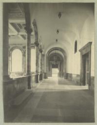 [Boston Public Library, interior]