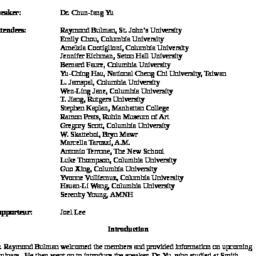 Minutes, 2008-12-15. Studie...