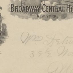 Broadway Central Hotel. Env...