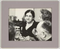 Anna Udal'tsova at Kitchen Table