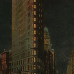 The     Flatiron by Night, ...