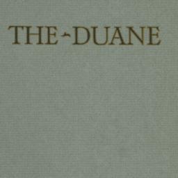 The     Duane, 237 Madison ...