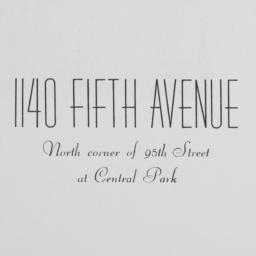 1140 Fifth Avenue