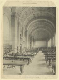 Bates Hall: Public Library of the City of Boston. McKim, Mead & White, Architects