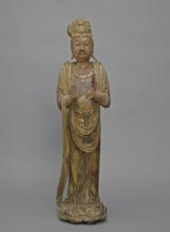 Bodhisattva Standing on a Lotus Base, Front