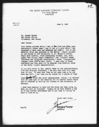 Letter from Horace R. Cayton to Gunnar Myrdal, June 3, 1942