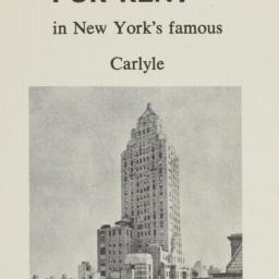 The     Carlyle, 35 E. 76 S...