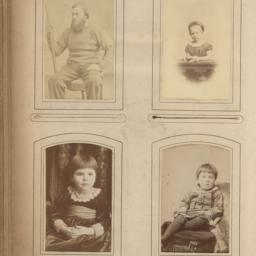 Four Images: Seated Man and...