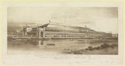 Building for Manufactures and Liberal Arts. World's Columbian Exposition, Chicago, 1893. George B. Post, Architect