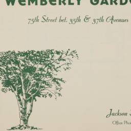 Wemberly Gardens, 75 Street...