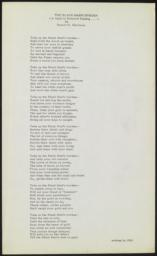 Black Man's Burden : poem, undated [written in 1920] : broadside