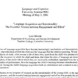 Announcements, 2001-05-03. ...
