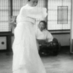 Korean classical dancer