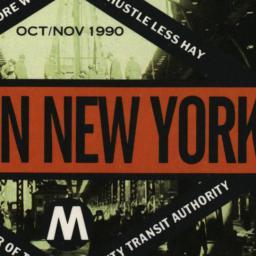 Only in New York Oct/Nov 19...