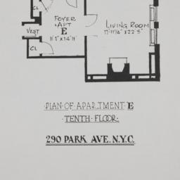 280-290 Park Avenue, Plan O...