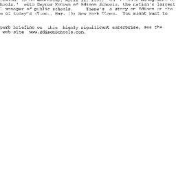 Announcements, 2001-04-11. ...
