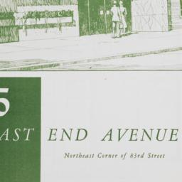 85 East End Avenue, Plan Of...