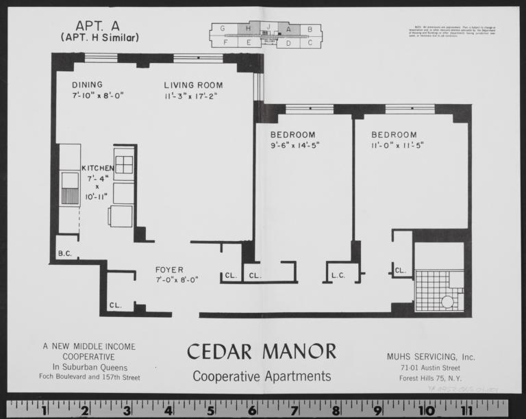 Cedar Manor, 157 Street And 116 Avenue, Apt. A - Columbia ...