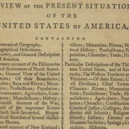 American Geography: or, A V...