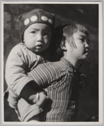 Two Boys Close-up