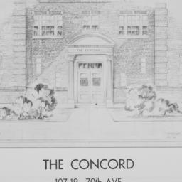 The     Concord, 107-19 70 ...