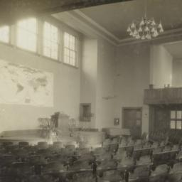 [Unidentified auditorium in...