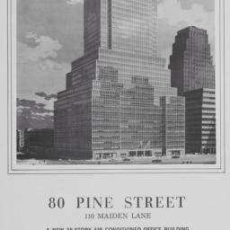 80 Pine Street, Rental Sche...