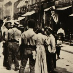 Pell St. in Chinatown, 1898