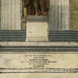New York, U. S. Sub-treasury.