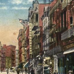 Mott Street, China Town, N.Y.