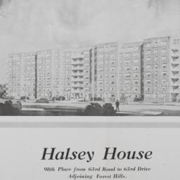 Halsey House, 98 Place And ...