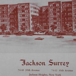 Jackson Surrey, Bruson Mano...