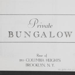 210 Columbia Heights, Priva...