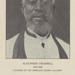 Alexander Crummell, 1819-18...