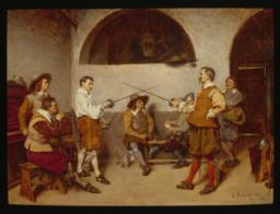 Duel in a Tavern