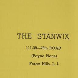 The     Stanwix, 111-39 76 ...