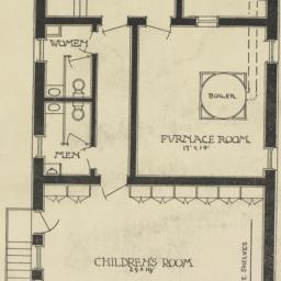 Basement plan.  Kingsbridge...